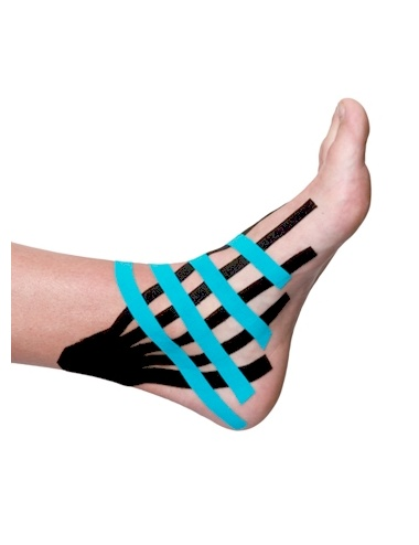 Kinesio Fan Cuts - Ankle Application