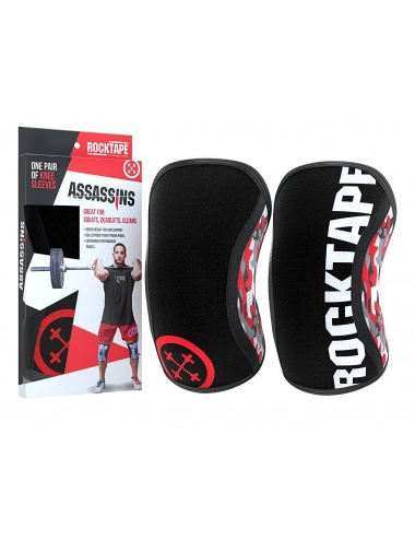 Rocktape Assassins Knee Protection Pads Red Camo