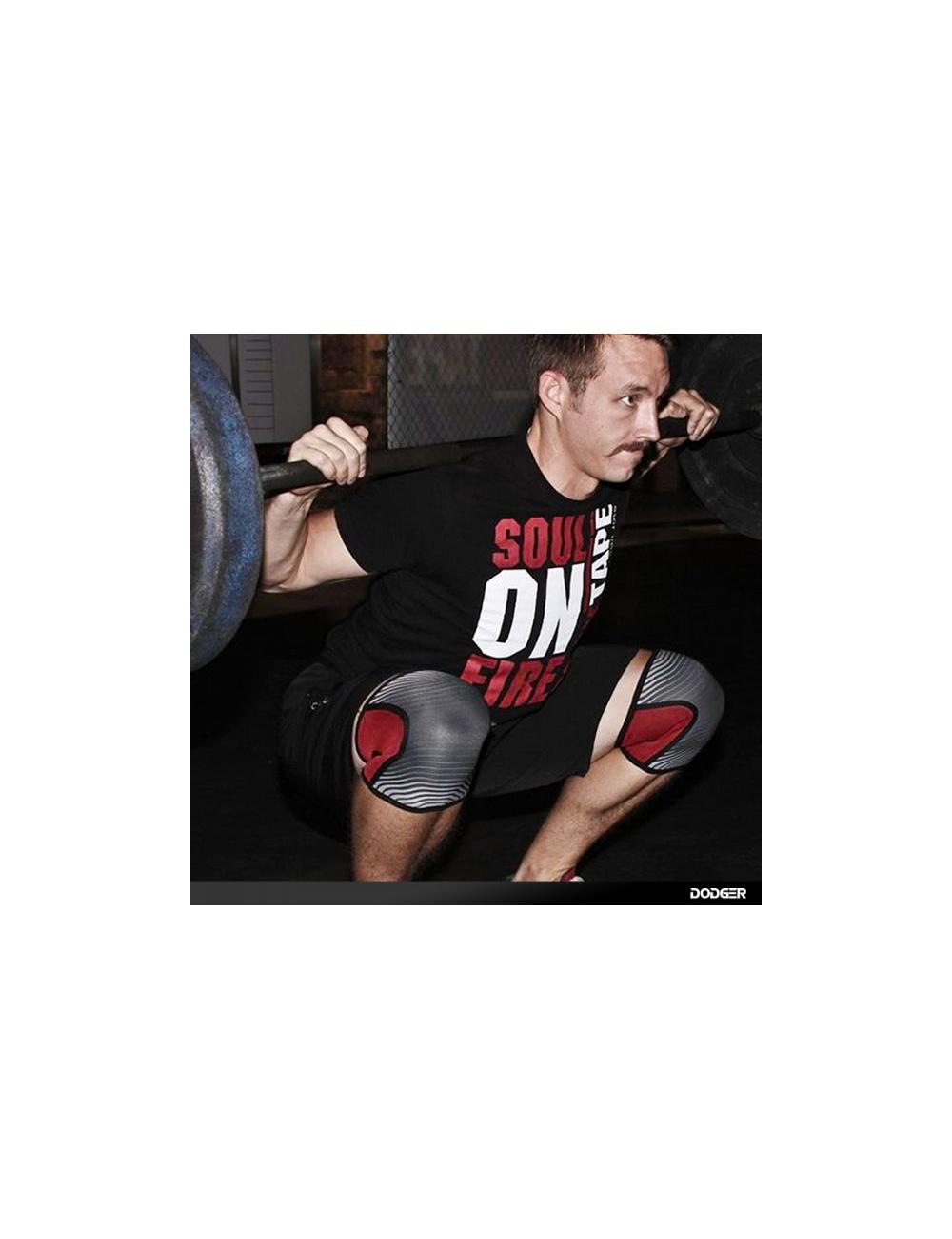 Rocktape Assassins Knee Protection Pads Red Camo