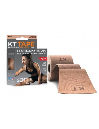 KT Tape Gentle Precut Strips - Beige