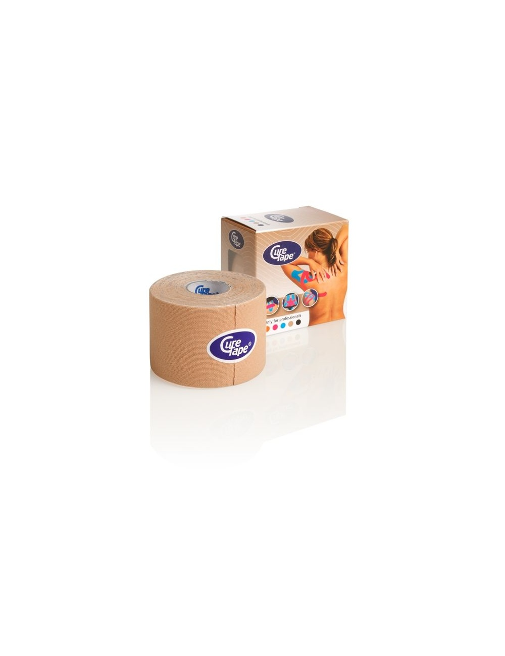 CureTape Single Roll and Box Beige