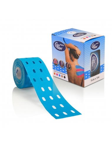 CureTape Punch Single Roll and Box - Blue