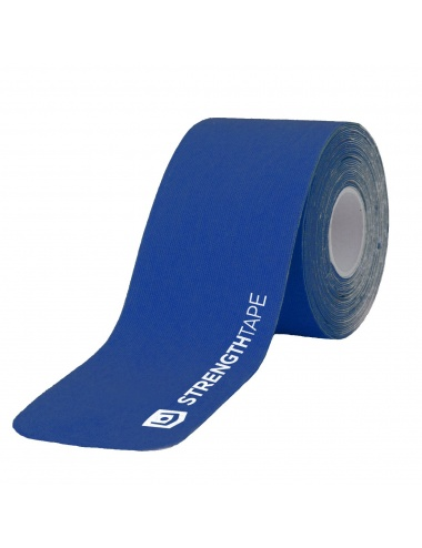 "Strength Tape 2"" x 16' Precut Strips - Royal Blue"