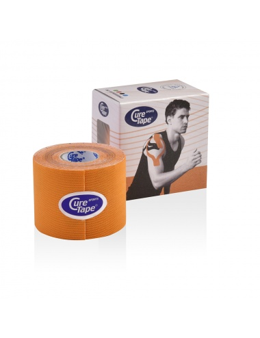 CureTape Sports Single Roll and Box - Orange