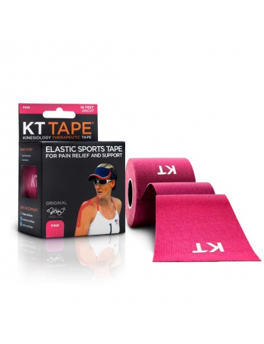 KT Tape Cotton Uncut Roll - Pink