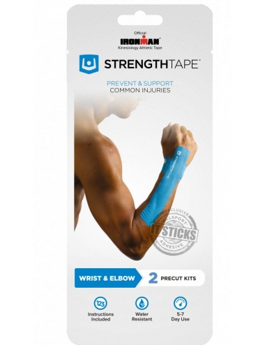 StrengthTape Precut Taping Kit for Elbow, Wrist, Carpal Tunnel
