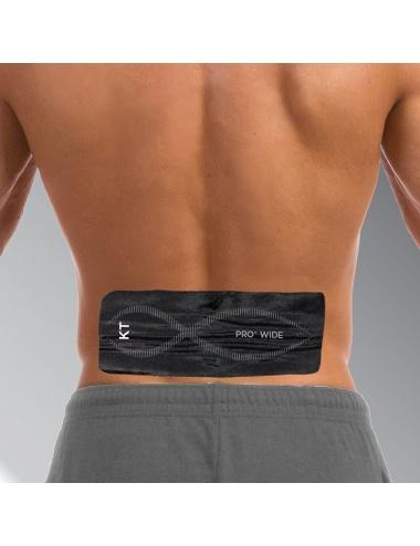 KT Tape Pro Wide Application - Lumbar
