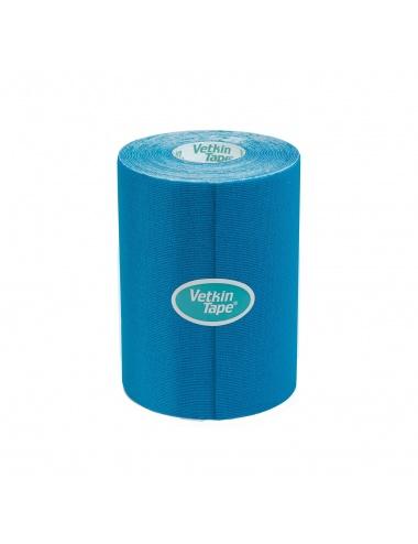 """VetkinTape Kinesiology Tape 4"""" Roll Blue"""