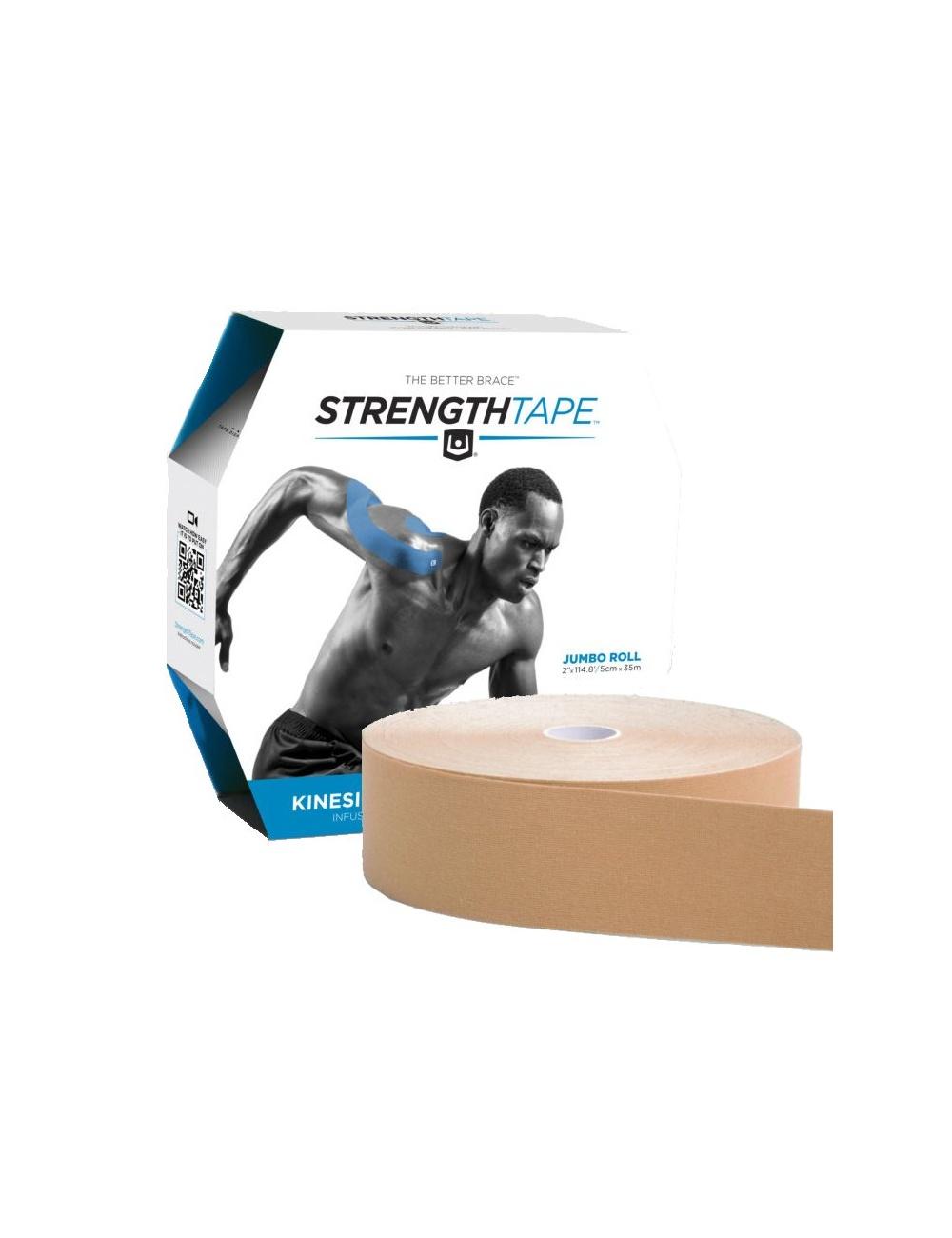 Strength Tape by Life Strength - Uncut Bulk Rolls - Beige
