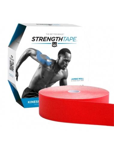 """StrengthTape 2"""" x 115' Bulk Rolls - Red"""