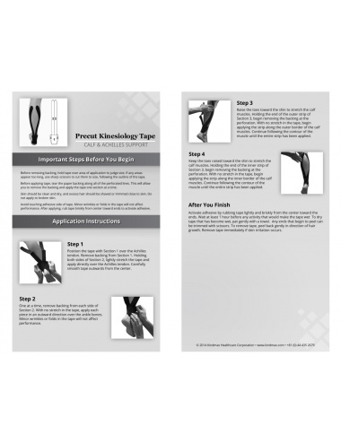 Kindmax Precut Calf & Achilles Support - Package Inside