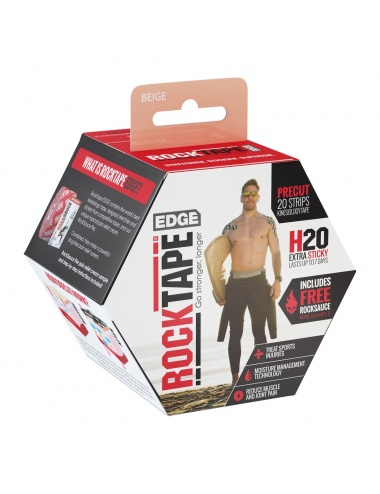 RockTape Edge Precut Roll Beige Box High Res