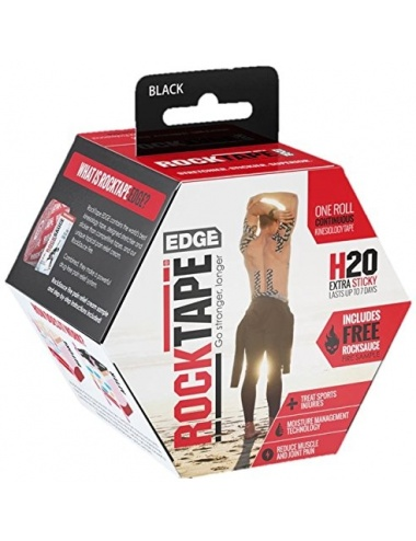 RockTape Edge Uncut Roll Black Box Thumbnail
