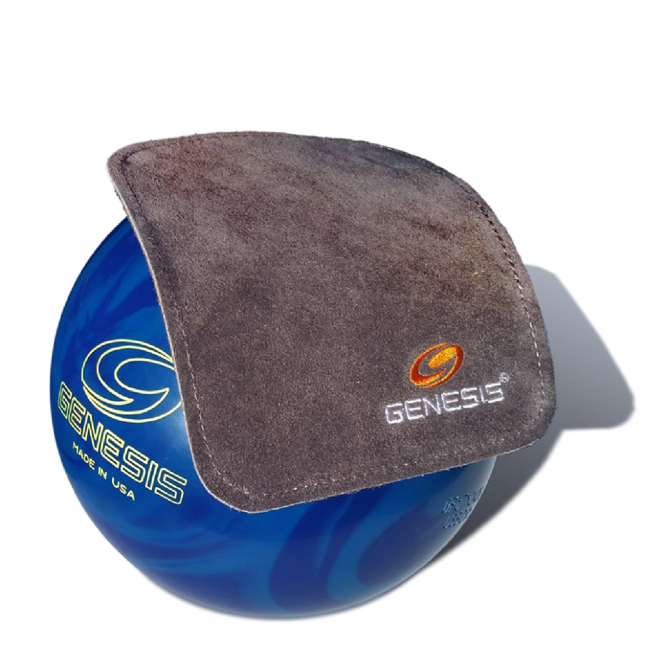 Genesis Pure Pad Bowling Ball Wipe - Black