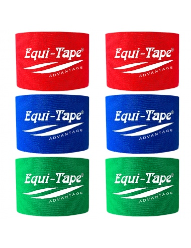 "Equi-Tape Advantage 2"" Equine Kinesiology 6-Roll Color Pack"