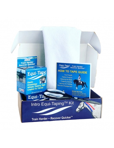 Equi-Tape Classic Intro Equi-Taping Kit (2 Rolls)