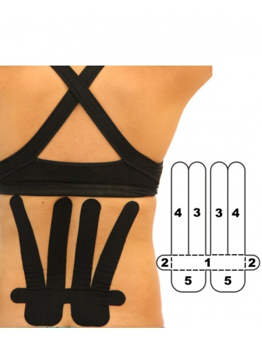 Kindmax Lower Back Support - Black
