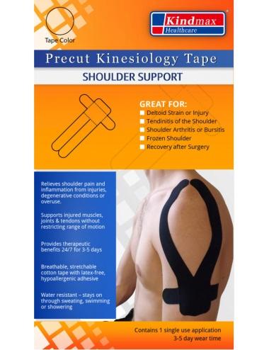 Kindmax Precut Shoulder Tape - Package Front