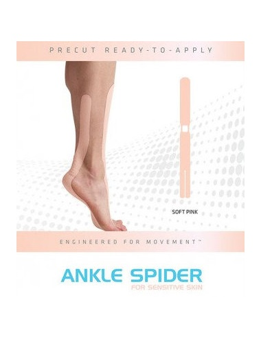 SpiderTech Gentle Precut Ankle Tape
