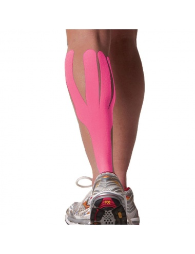 SpiderTech Calf and Arch Precut Tape Pink