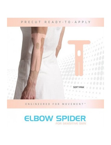 SpiderTech Gentle Precut Elbow Tape