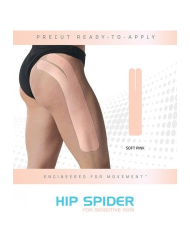 SpiderTech Gentle Precut Hip Tape