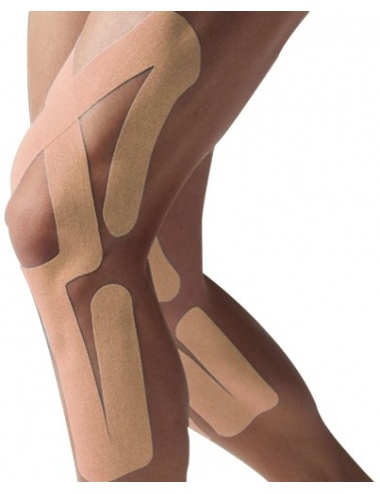SpiderTech Full Knee Tape Beige
