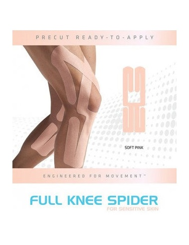 SpiderTech Gentle Precut Full Knee Tape Package