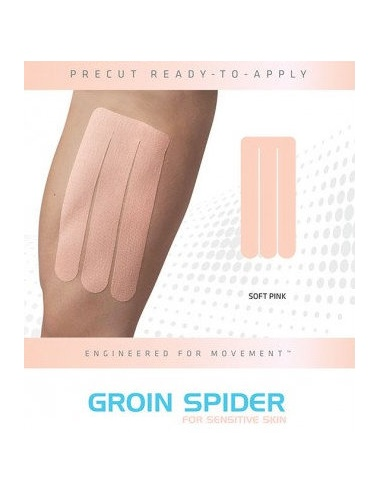 SpiderTech Precut Groin Tape