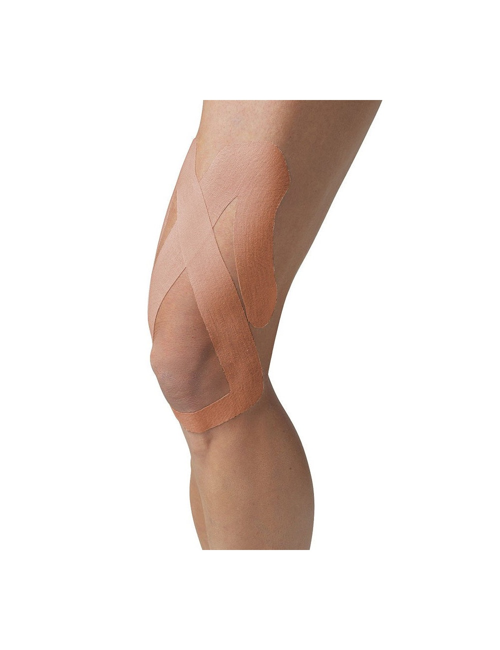 SpiderTech Precut Upper Knee Tape - Beige