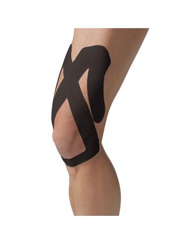 SpiderTech Precut Upper Knee Tape - Black