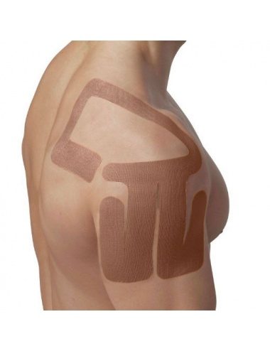 SpiderTech Precut Right Shoulder Tape - Beige