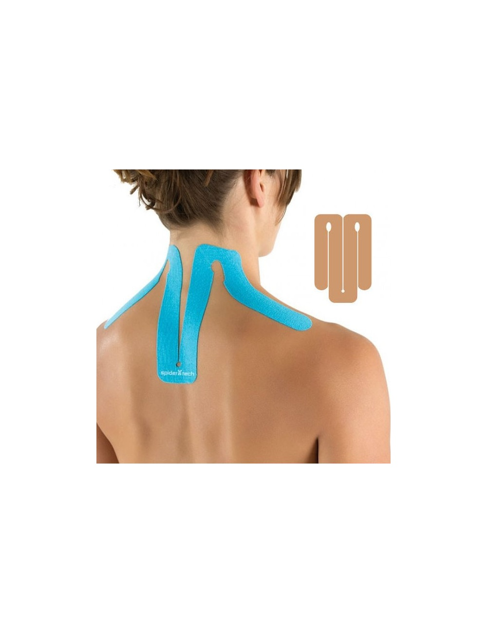 SpiderTech Precut Neck Tape - Beige