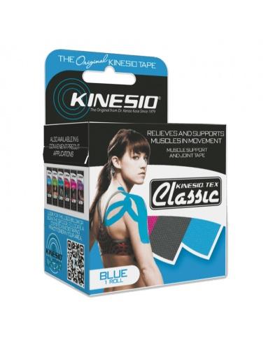 Kinesio Tex Tape Classic Single Rolls - Blue