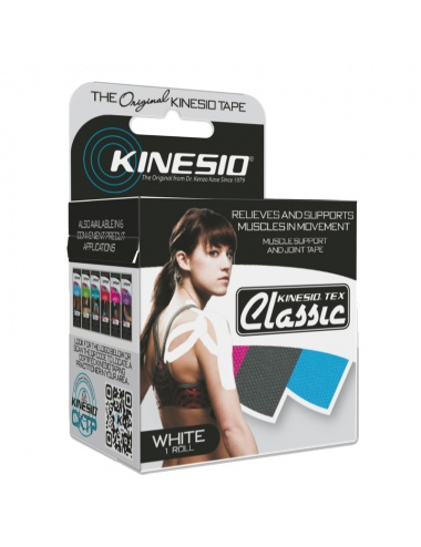 Kinesio Tape Classic Single Roll - White