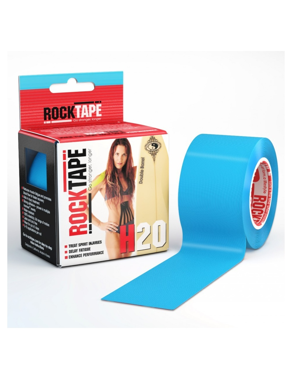RockTape H2O - Blue