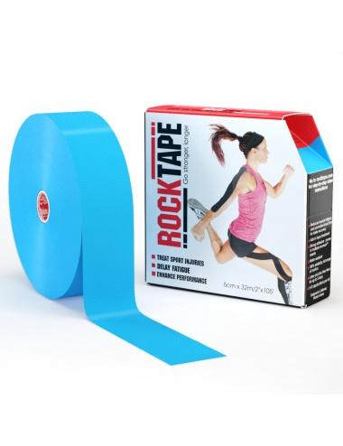 """RockTape 2"""" Bulk Roll - Light Blue"""
