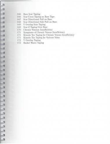 Lymphedema Manual Contents - Pg 3