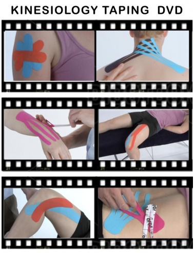 Kinesiology Taping Fundamentals DVD - Screenshots