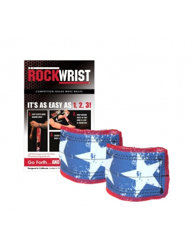 RockWrist Wrist Wraps - Stars & Stripes