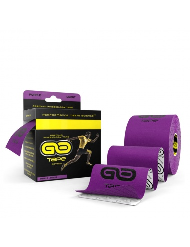 GO Tape 5M Uncut Roll - Purple