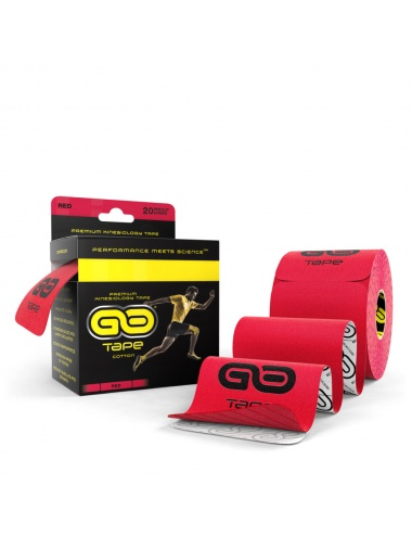 GO Tape - 20 Precut Strips - Red