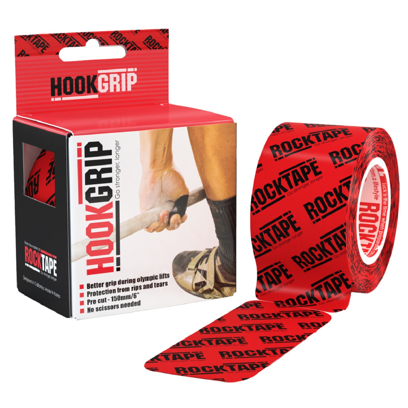 RockTape HookGrip Tape for Thumbs