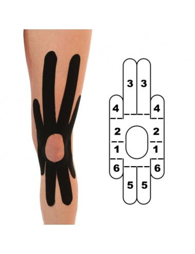 Kindmax Precut Kinesiology Knee Tape
