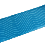 Kinesiology Tape Wave Pattern Adhesive