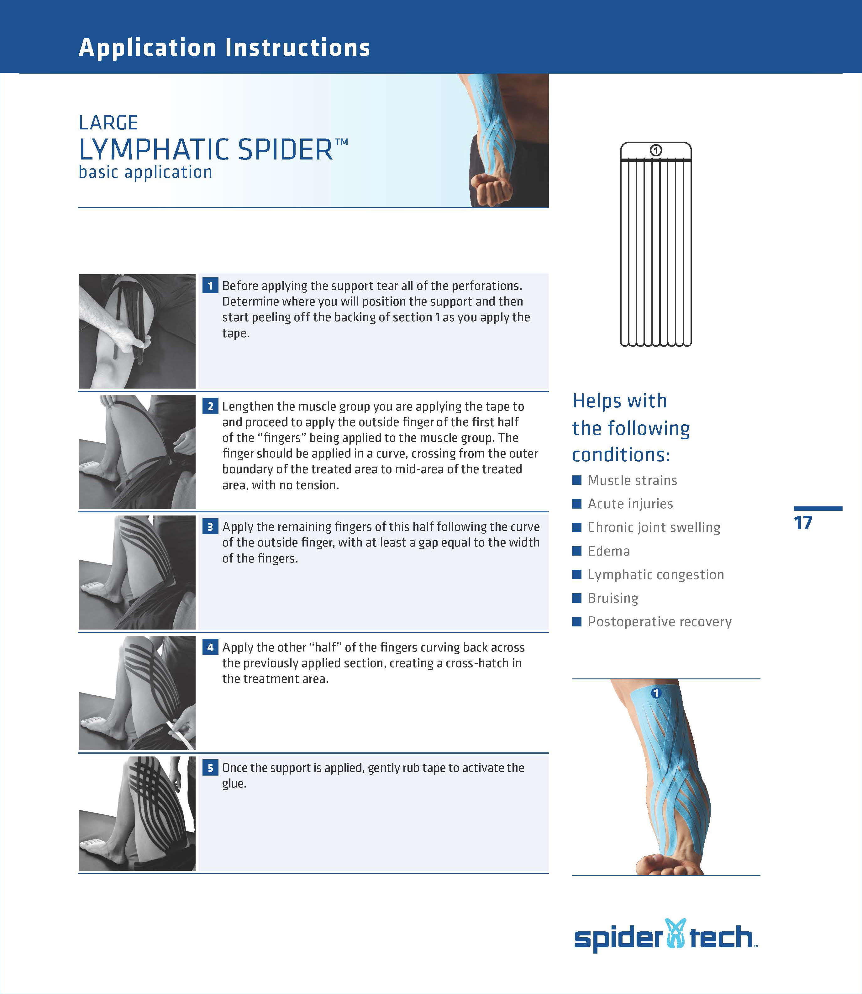 SpiderTech-Large-Fan-Spider-Application-Instructions